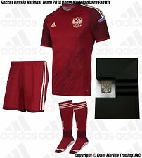Soccer Russia National Team 2014 Home Model Limited Issue adizero Fan Kit(L)1048