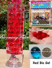 24 packs - Red - Bio Gel Crystal Water Beads Mud wedding decoration vase center