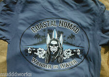 Stand up Paddle board T-shirt Coastal Nomad Caribbean Hobo SUP  Wander on Water