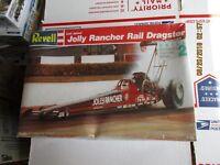 Revell  Lori Johns' Jolly Rancher Rail Dragster 1/25 scale Kit # 7496