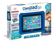 "CLEMPAD GO TABLET 8"" HD DJ STATION GOOGLE PLAY 3G WIFI BLUETOOTH CLEMENTONI 2018"