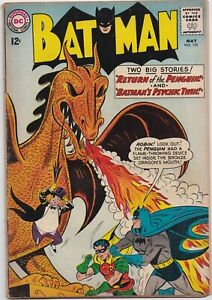 Batman #155  4.0  -KEY-  1st S.A. Penguin
