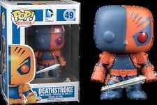 Pop Vinyl DC Deathstroke Flat Colour (Sold Out in Australia) # 49 / Hard to Find