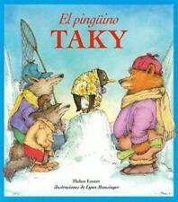 El Pinguino Taky by Helen Lester (2001 harcover Teachers Edition)