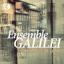 Ensemble Galilei - From Whence We Came [New CD] With Blu-Ray Audio