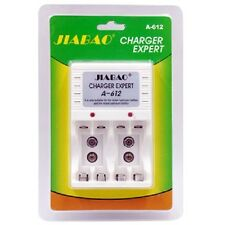 Carica Batterie Pile Stilo Ministilo AA AAA 9v A-612 Indicatore Ricarica moc