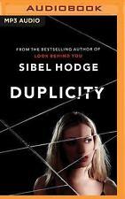 Duplicity by Sibel Hodge (2016, MP3 CD, Unabridged)