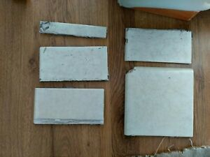 1950s  fireplace  tiles  for hearth  or  fireplace side tiles random selection