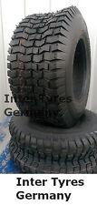 2x 15x6.00-6 V3502 Reifen 15x6-6 4PR KingsTire für Rasentraktor Aufsitzmäher NEU