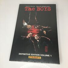 The Boys Definitive Edition volume 1 1st print  Ennis Robertson NEW SEALED