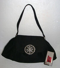 BEAUTIFUL & VINTAGE & VICTORIA SECRET & PARTY  HANDBAG & FLAP PURSE & BLACK