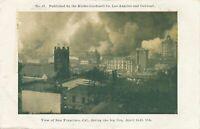 SAN FRANCISCO CA - San Francisco During The Big Fire April 18-20, 1906 - udb