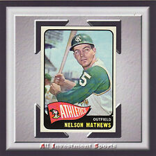 1965 Topps NELSON MATHEWS #87 NM-MT *amazing baseball card for your set* SD1b