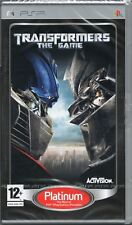 TRANSFORMERS, THE GAME GAME PSP ~ NEW / SEALED