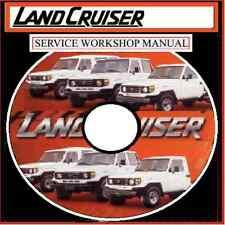 LAND CRUISER FJ,BJ,HJ,HZ 70,73,75  RESTORATION SERVICE REPAIR WORKSHOP CD