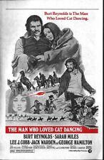 '73 MAN WHO LOVED CAT DANCING Rare 4 page Herald Burt Reynolds Sarah Miles MGM