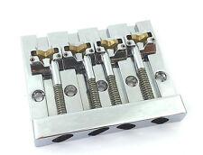 Hipshot Chrome KICKASS ™ Bass Bridge for Top Load Fender P/Jazz Bass® 5K400C