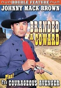 Brown, Johnny Mack Double Feature: Branded A Coward (1935) / Courageous Avenger