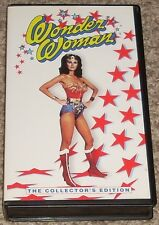 DC WONDER WOMAN TV Show VHS Tape The Feminum Mystique Lynda Carter Debra Winger