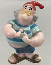 "Disney Peter Pan Mr Smee 2"" PVC Pirate Figure Captain Hook Sidekick Cake Topper"
