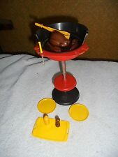 Marx Dollhouse Sindy Barbie Doll Grill Tray Dish Barbeque BBQ  Lot 11 Food