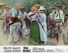 BRIGITTE BARDOT  JEANNE MOREAU VIVA MARIA  1965 VINTAGE LOBBY CARD ORIGINAL #3