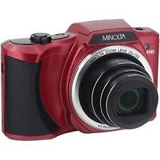 Minolta Mn22z-r 20-megapixel 1080p Full Hd Wi-fi Mn22z Digital Camera With 22x