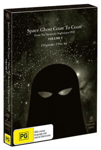Space Ghost - Coast To Coast: Volume 5 DVD Brand New & Sealed.