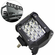 Super White LED Work Light Bar Beam Spot Offroad Driving Fog Lamps SUV 4WD IDEM