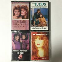 The Judds Wynonna Cassette Tape Lot of 4 Country