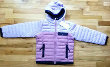 NWT COLUMBIA GIRLS MOUNTAINSIDE HYBRID FULL ZIP JACKET S 7/8 LILAC PURPLE