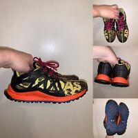 Adidas Vigor Bounce Trail Running Shoes Womens Size 6 Yellow Black Orange