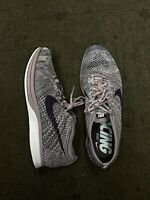 Nike Flyknit Racer Lavender Purple Road Phylon 526628-500. Running Shoes. 10.5 M