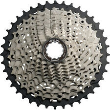 Cassettes, Freewheels & Cogs Objective Shimano Mtb Bike Hg61-9 Cassettes Freewheels 9 Speeds 11-32t For Slx Groupset Pretty And Colorful