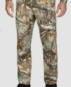 Under Armour Realtree Edge Field Ops Pants Size 44 x 30 Camo 1313212 991