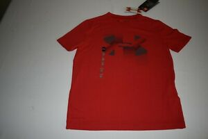 UNDER ARMOUR BOY'S T SHIRT NWT RED SMALL