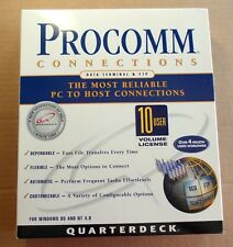 PROCOMM CONNECTIONS V4.6 WIN95/NT Ver. 4.6 CD-ROM, 10 USER SEALED RETAIL BOX