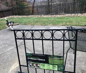 "4 (ea) Panacea garden fence sections 36"" pn 87545"