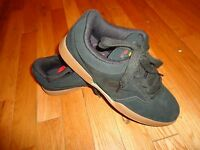 Mens Airwalk Andy Mac Suede Leather Skate All Day Athletic Shoes Sneakers Black