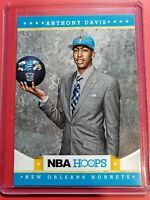 ANTHONY DAVIS 2012-13 Panini NBA HOOPS Rookie RC No. 275 Hornets Lakers STAR SP