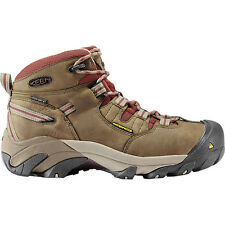 New Keen Womens Detroit Mid Steel Toe Waterproof Slip-Resistant Safety Boots 7.5