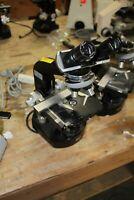Nikon   Microscope  LOADED OBJECTIVES 40 HI 100 4 10