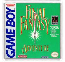 FINAL FANTASY ADVENTURE NINTENDO GAME BOY FRIDGE MAGNET IMAN NEVERA