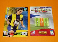 S. PIOCELLE  ACA AVIGNON ARLES FOOTBALL FOOT ADRENALYN CARD PANINI 2010-2011