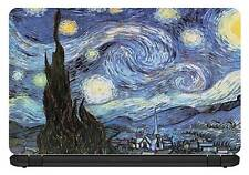15.6 inch Van Gogh-Starry Night -Laptop/Vinyl Skin/Decal/Sticker/Cover-VG03