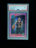 2018 Donruss Optic Hyper Pink prizm Trae Young #198 Rookie Card PSA 9 MINT -RC🔥
