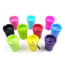 Mini Ashtray Cigarette Butt Cup Portable Car Bucket Smoke Ash Holder Candy Color