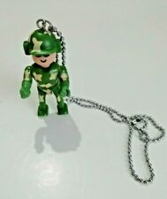 Action Man Lego Figure Army Style Necklace Kitsch Costume Jewellery Poseable