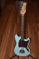 2013 Jay Turser Vintage Series Duo Sonic Robins Egg Blue FREE SHIPPING!