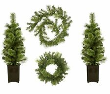 Home Set Of 4 Outdoor Christmas Decorations